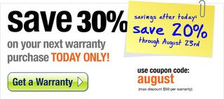 Use Coupon Code August today - August 18th - and save 30%!